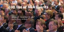 FULL LIST OF IWA EVENTS